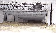 Flachdach innen beton